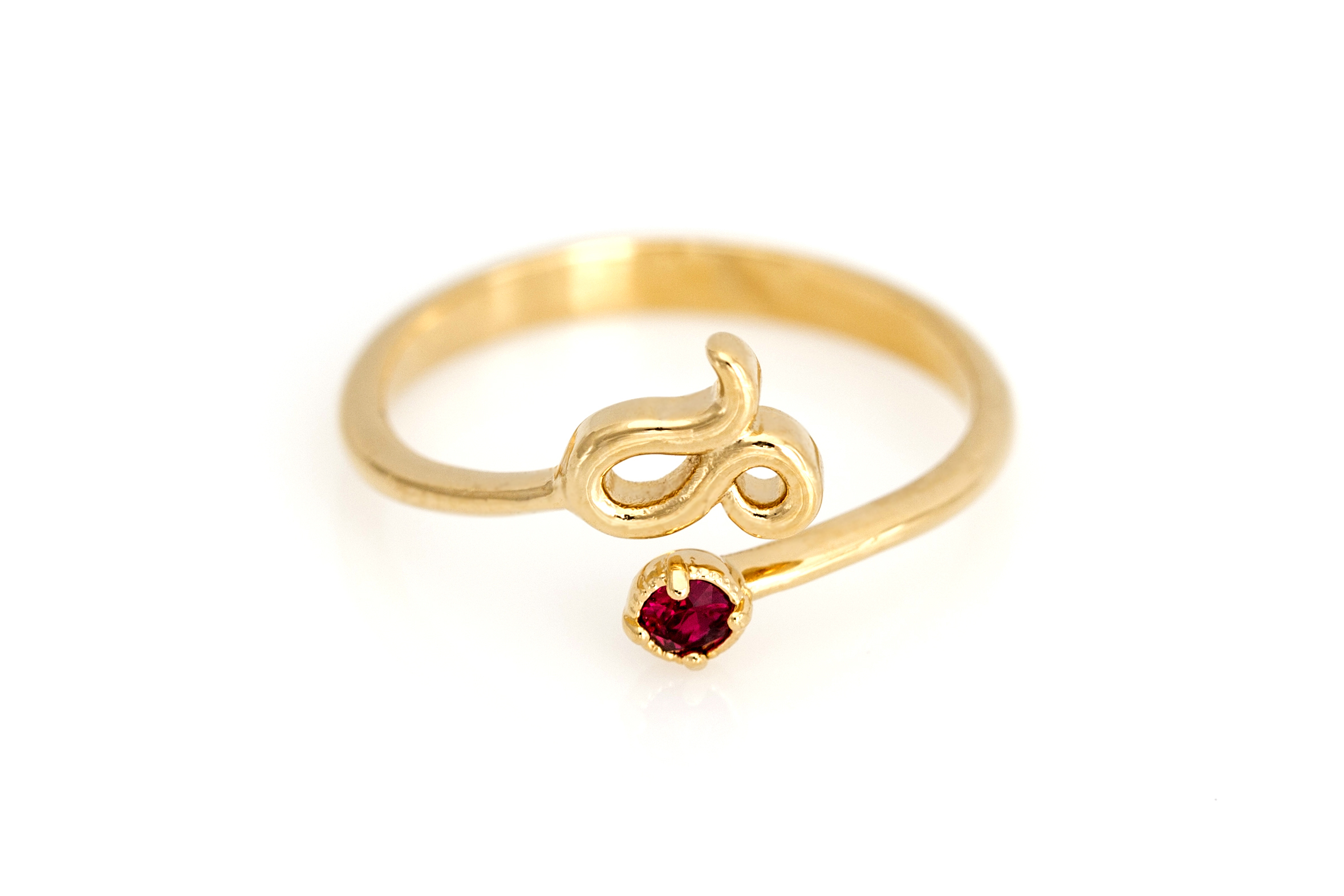 ruby ring products under solid a rings leo star birthstone gold lucky chupi born july