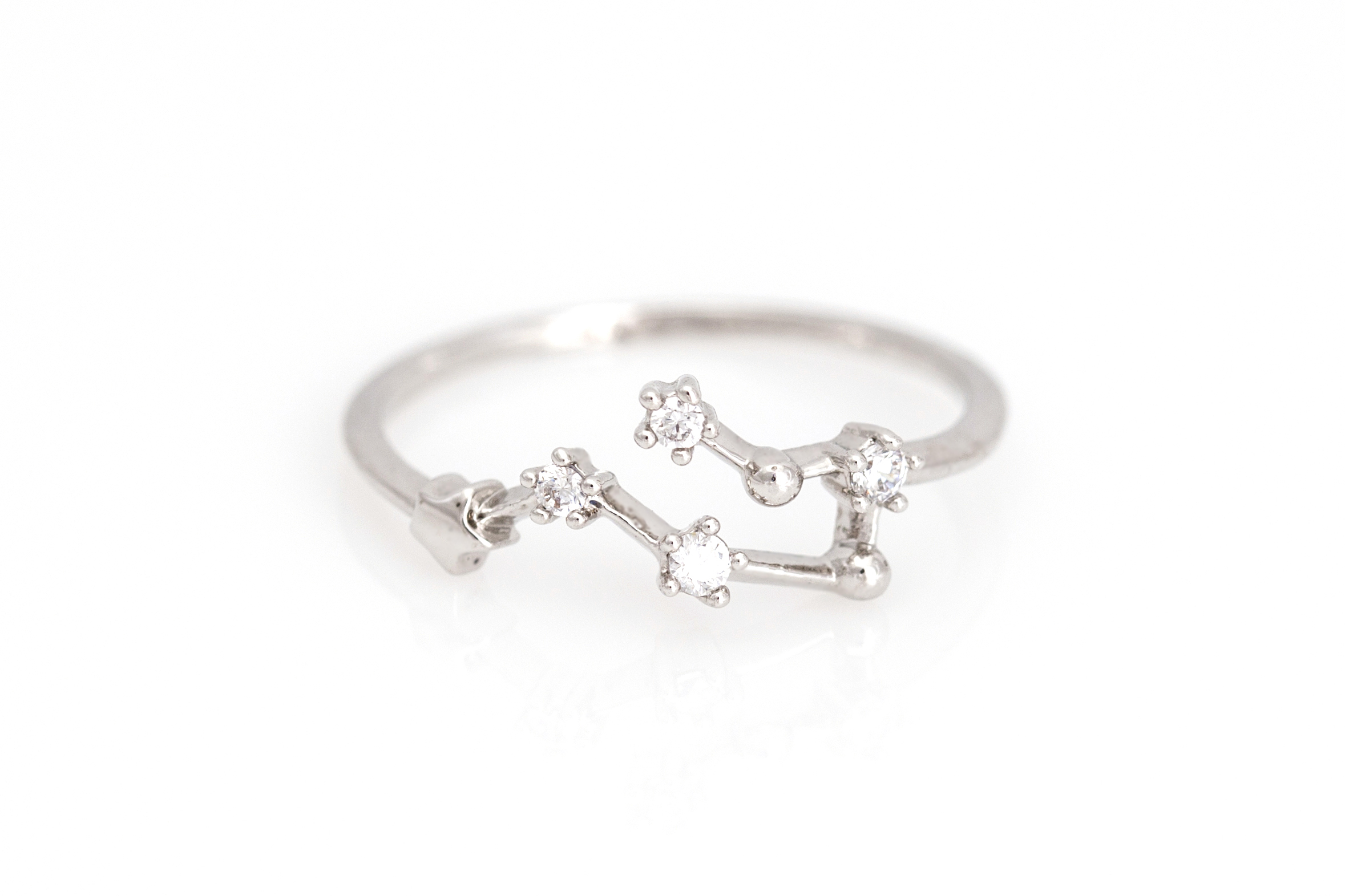 gemini of by baby engagement fine rings ring white gold diamond lovely beautiful jewellery