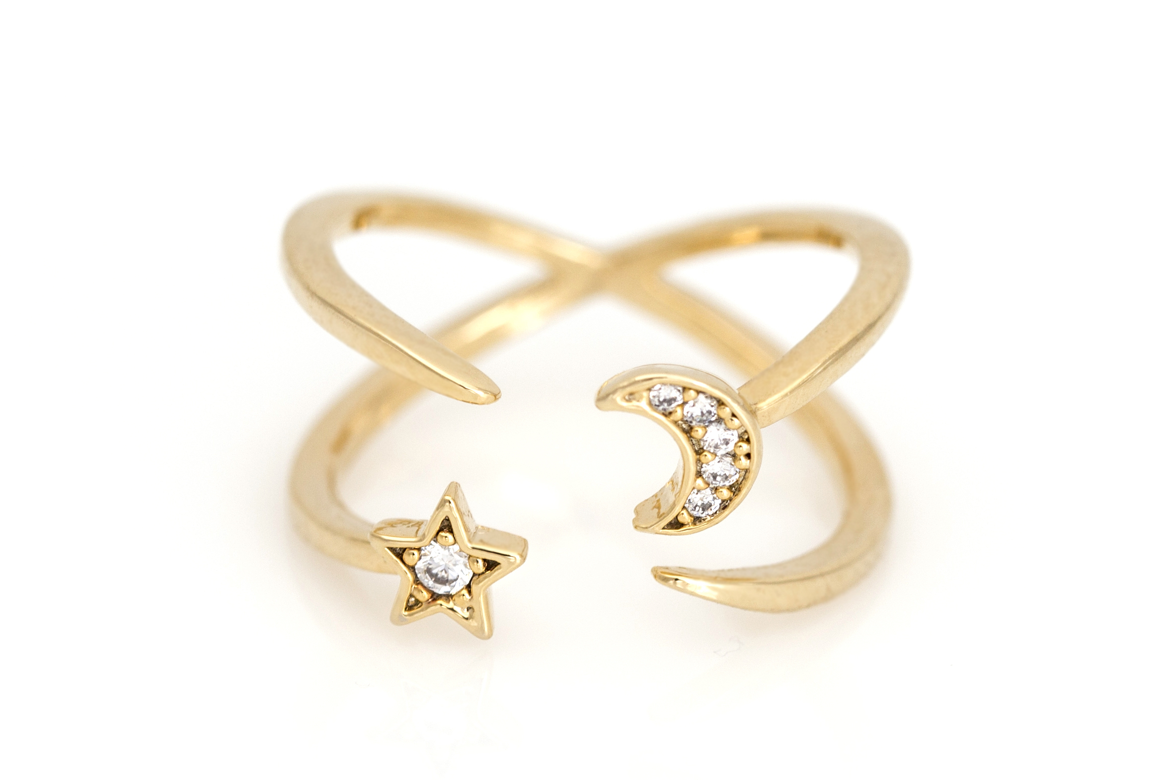 moon number rings jewelry personal catbird